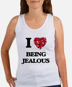 I Love Being Jealous Tank Top