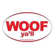 Cute Wag more bark less Bumper Stickers