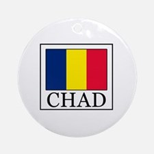 Chad Round Ornament