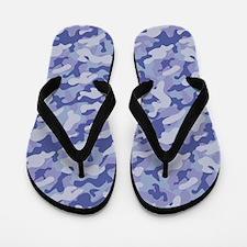 Inverted Camouflage Flip Flops