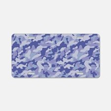 Inverted Camouflage Aluminum License Plate