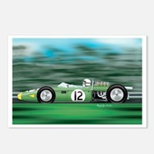 1966 Brabham Postcards (Package of 8)