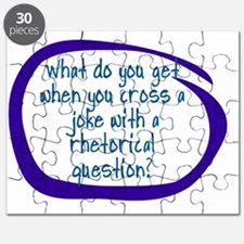 WHAT DO YOU GET WHEN YOU CROSS A JOKE WITH  Puzzle
