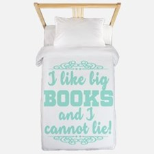 I Like Big Books And I Cannot Lie Twin Duvet