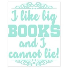 I Like Big Books And I Cannot Lie Canvas Art