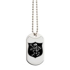 ST6 Skeleton Dog Tags