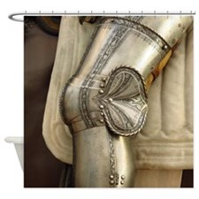 The Romance of Armor Shower Curtain