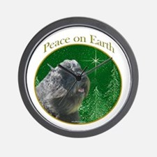 Bouvier Peace Wall Clock