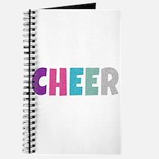 Cheer Rainbow Glitter Journal