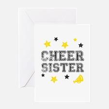 Cheer Sister Greeting Card