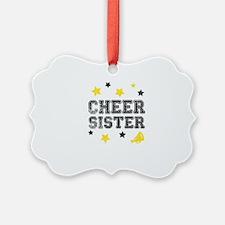 Cheer Sister Ornament