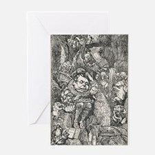 Lewis Carroll Henry Holiday Hunting Greeting Cards