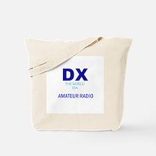 DX The World Via Amateur Radi Tote Bag