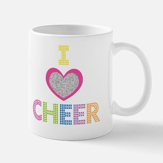 I Heart Cheer Mug