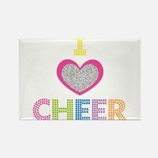 I Heart Cheer Magnets