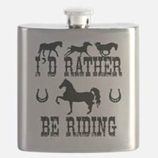 Horse - I'd Rather Be Riding Flask