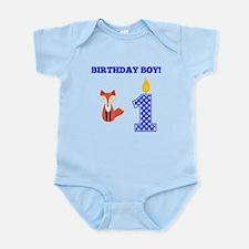 Birthday Boy Fox Body Suit