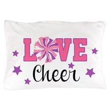 Love Cheer Pom Pom Pillow Case