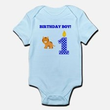 Birthday Boy Tiger Body Suit