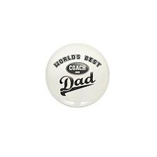Best Coach/Dad Mini Button (10 pack)