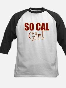 So Cal Girl Kids Baseball Jersey