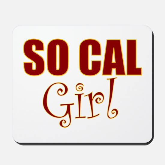 So Cal Girl Mousepad