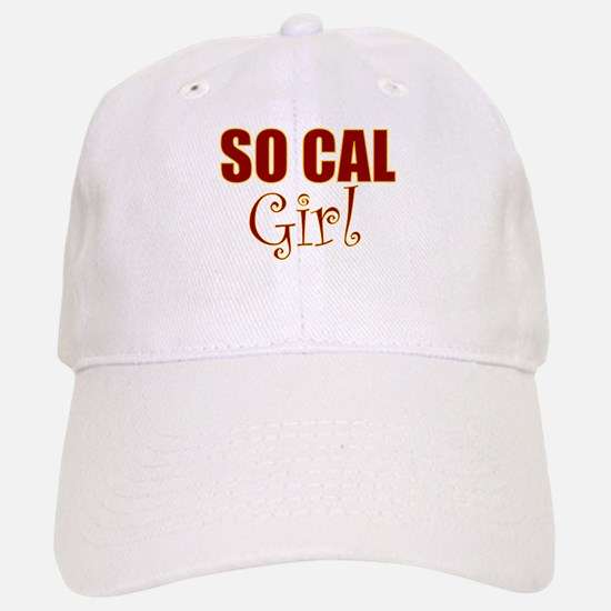So Cal Girl Baseball Baseball Cap