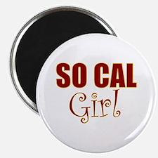 """So Cal Girl 2.25"""" Magnet (10 pack)"""