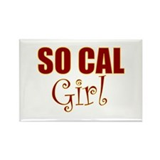 So Cal Girl Rectangle Magnet