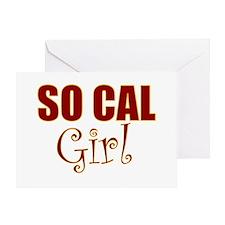 So Cal Girl Greeting Card
