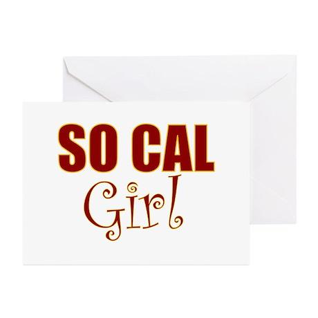 So Cal Girl Greeting Cards (Pk of 10)