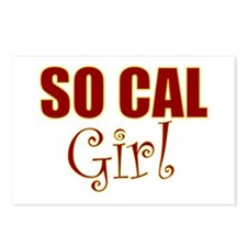 So Cal Girl Postcards (Package of 8)