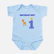 Birthday Boy Deer Body Suit