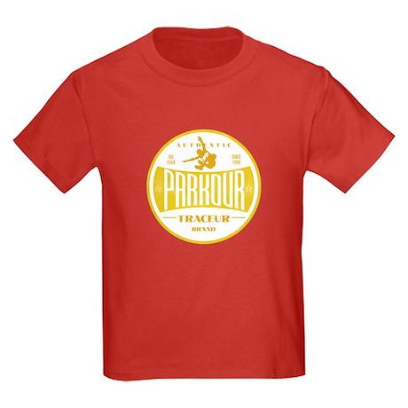 PARKOUR JUMPER Kids Dark T-Shirt