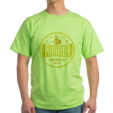 PARKOUR JUMPER Green T-Shirt