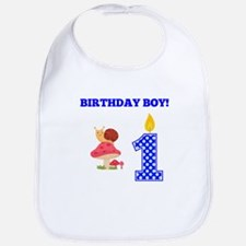 Birthday Boy Snail Bib