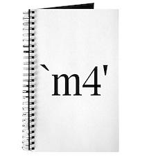 `m4' Journal