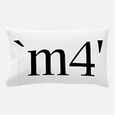 `m4' Pillow Case