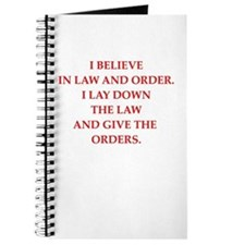 law and order Journal