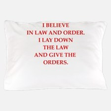 law and order Pillow Case