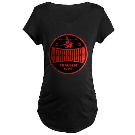 PARKOUR TRACEUR Maternity Dark T-Shirt
