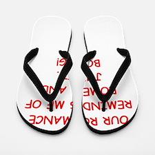 romance Flip Flops