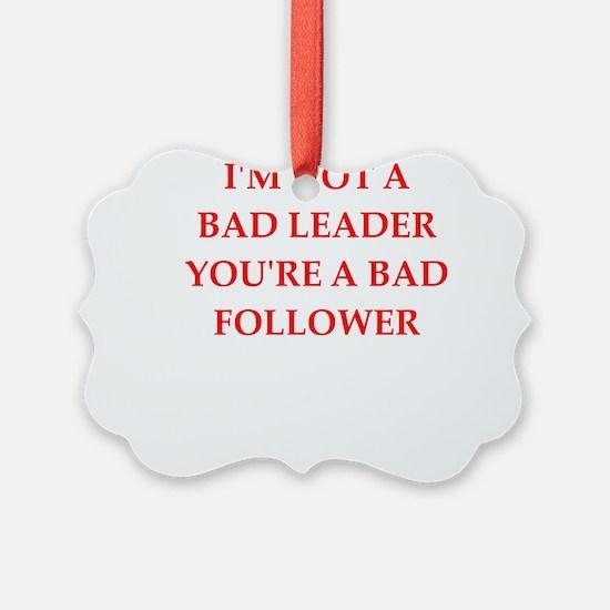 leader Ornament