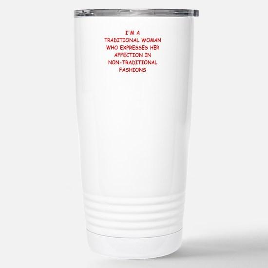traditional Travel Mug