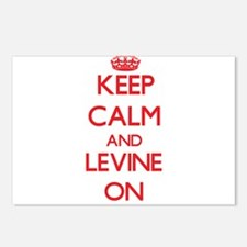 Keep Calm and Levine ON Postcards (Package of 8)