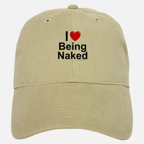 Being Naked Baseball Baseball Cap