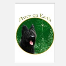 Briard Peace Postcards (Package of 8)