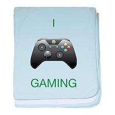 I Heart Gaming (XB) baby blanket