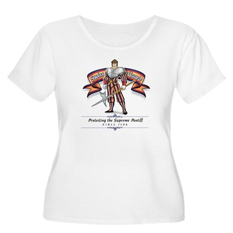 Swiss Guard Women's Plus Size Scoop Neck T-Shirt