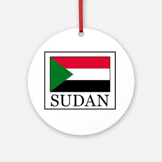 Sudan Ornament (Round)
